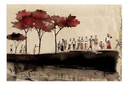 Jamie Hewlett illustrations