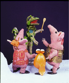 CLangers soup D and froglet s
