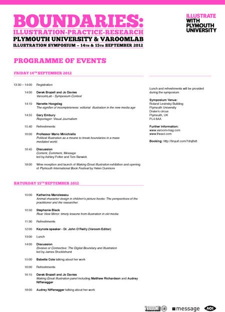 Boundaries_programme