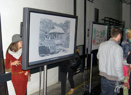 The digital exhibition