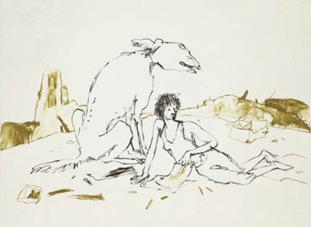 One of Quentin Blake's Images to be exhibited