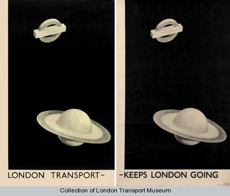 Man Ray - 'London Transport - Keeps London Going'