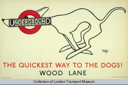 Alfred Leete - 'The Quickest Way to the Dogs'