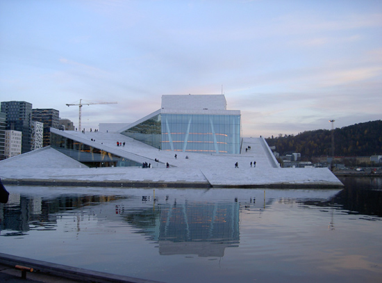 Oslo's Opera and Ballet House