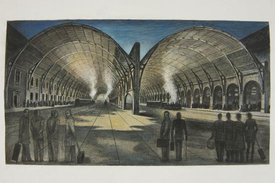 King's cross railway Shed