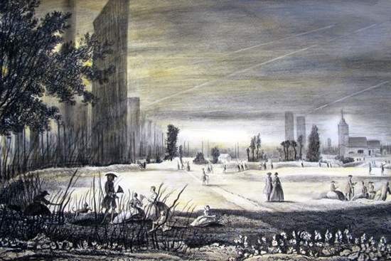 St Pancras in the Fields 1752