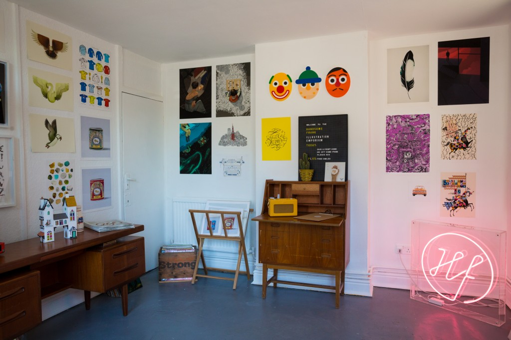 Pop-up shop at The Frontroom (Cambridge)