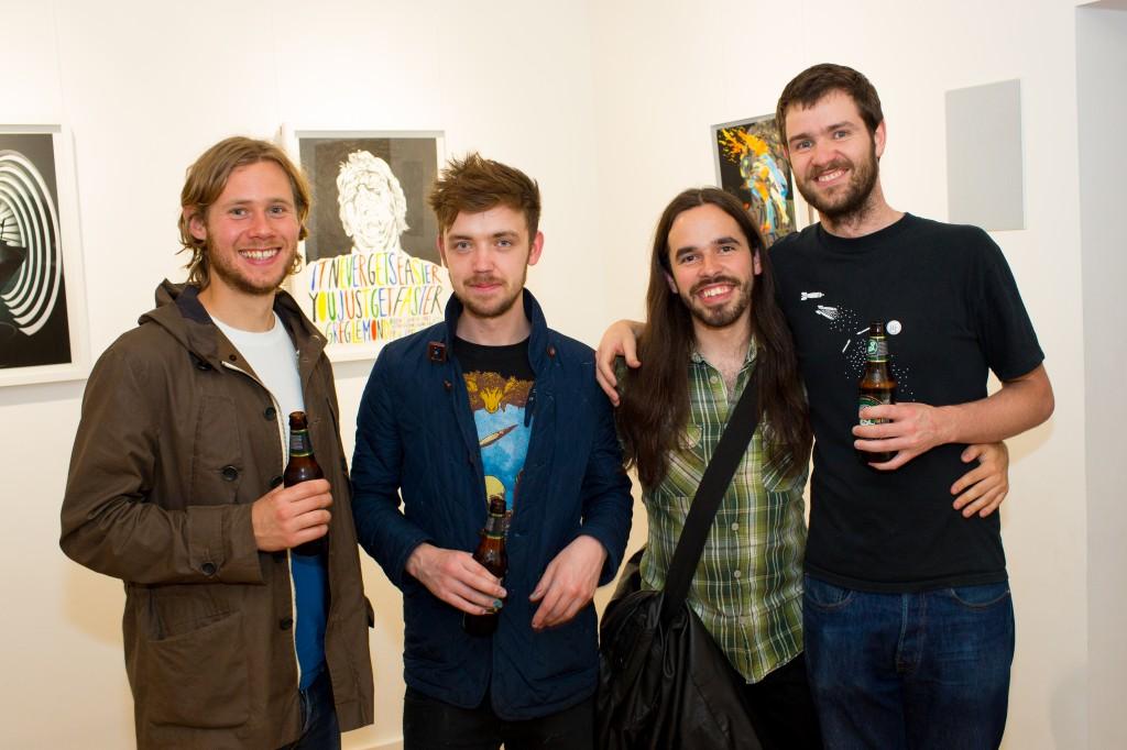 Our 'family' of illustrators – David Sparshott, Matt Saunders, Stuart Whitton and Stephen Cheetham