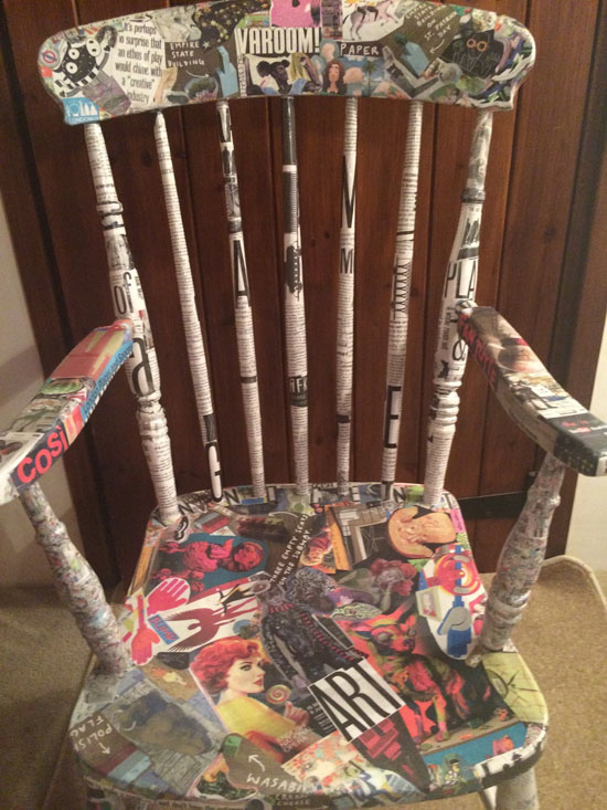 Varoom chair