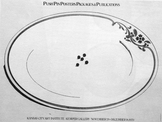 Push Pin Exhibition Poster