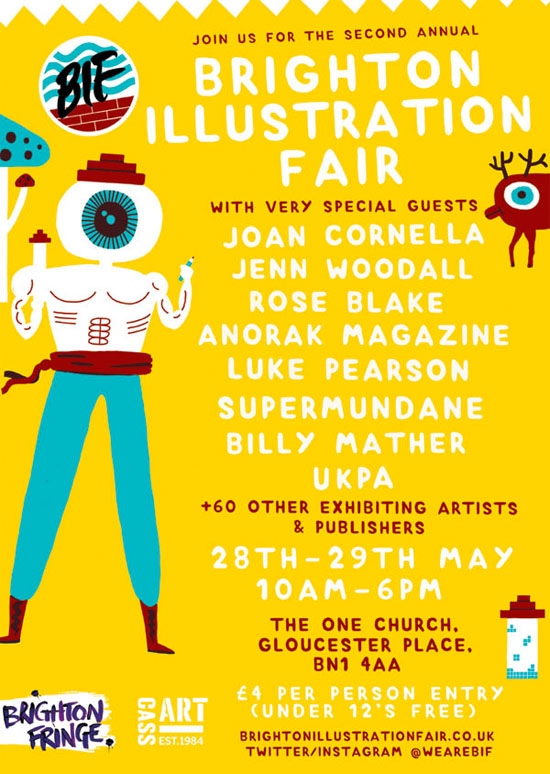 Brighton Illustration Fair