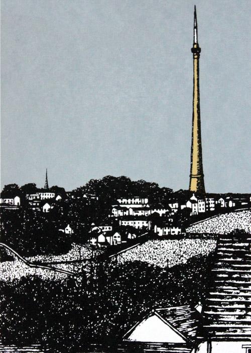 Sarah Harris - Beneath Emley Moor Mast